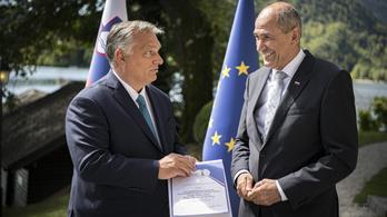 Orbán Viktor: Szlovénia stratégiai partnerünk