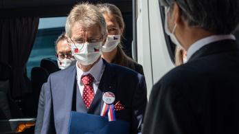 Átlépte a vörös vonalat tajvani látogatásával a cseh szenátus vezetője, legalábbis Peking szerint