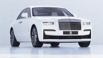 Egyszerűbb az új Rolls-Royce Ghost