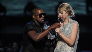 Kanye West szerint isten is úgy akarta, hogy kikapja Taylor Swift kezéből a díjat a 2009-es VMA-n