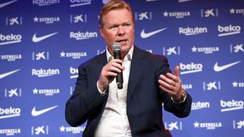 Koeman szerint a Barcelona más klub, mint néhány évvel ezelőtt