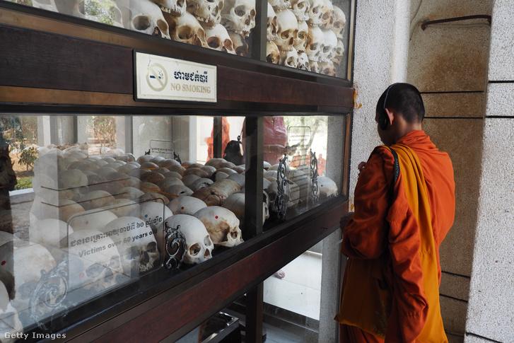 A népirtás áldozatainak múzeuma Phnompenben