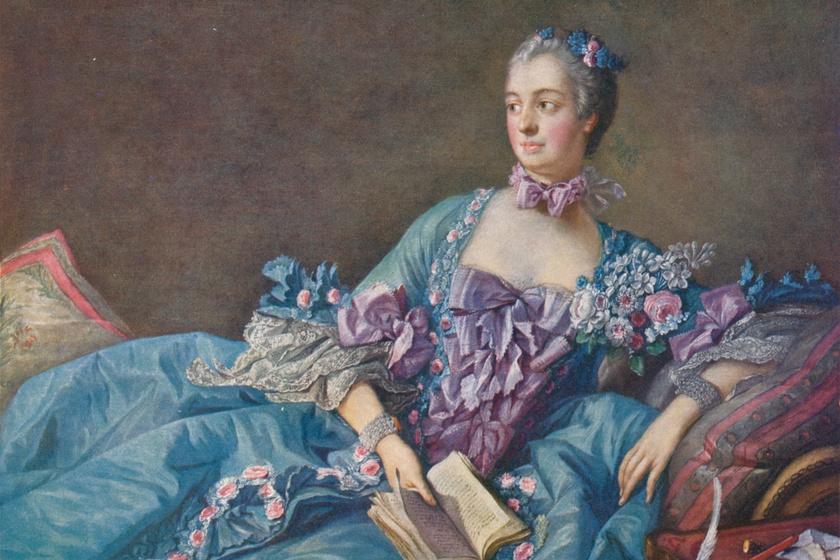 Hivatalos királyi szerető és stílusikon: Madame de Pompadour nem spórolt, ha ruhákról volt szó