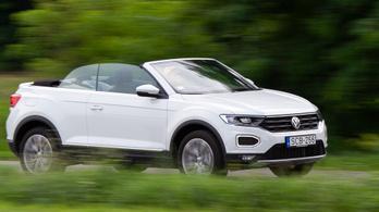 Teszt: Volkswagen T-Roc Cabriolet - 2020.