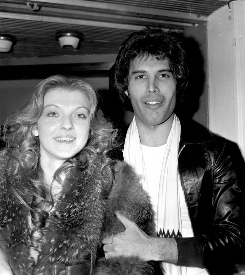 Freddie Mercury és Mary Austin a '70-es években fülig szerelmesek voltak egymásba.