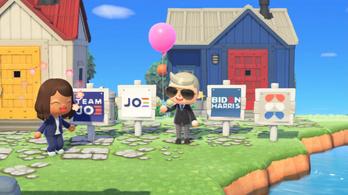Joe Biden már videojátékban kampányol