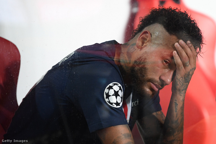Neymar a Bayern München elleni mérkőzésen 2020. augusztus 23-án