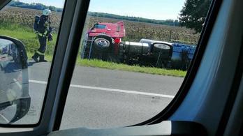 Baleset az M1-es autópályán