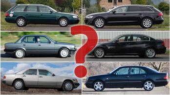 Kilencvenes évek: autók az örökkévalóságnak
