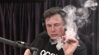 Mennyit ér élő adásban betépni Elon Musk-kal?