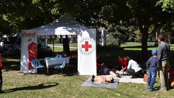 Újra ingyenes hősképzőt indít a Magyar Vöröskereszt