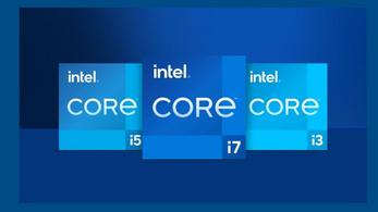 Új logóval érkeznek az Intel 11. generációs processzorai