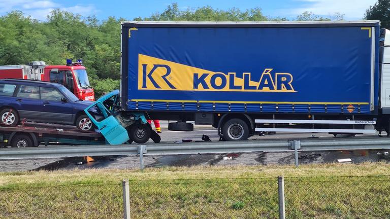 Halálos baleset az M5-ösön a Szeged felé vezető oldalon, Inárcs térségében