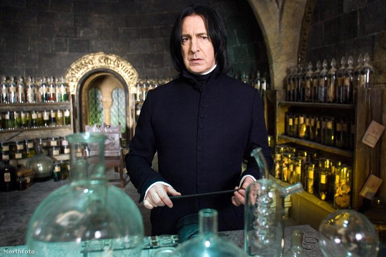 A legtöbben azonban mégis Piton professzorként ismerték meg a Harry Potter szériából