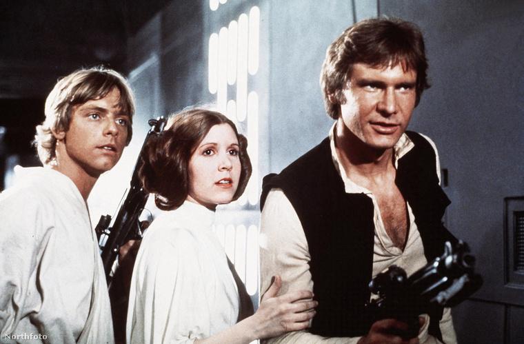 A világhírt persze egyértelműen a Star Warsnak köszönheti, ahol ő játszotta Leia hercegnőt