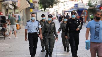 Koronavírus: Izraelben több mint háromezer új esetet regisztráltak egy nap alatt