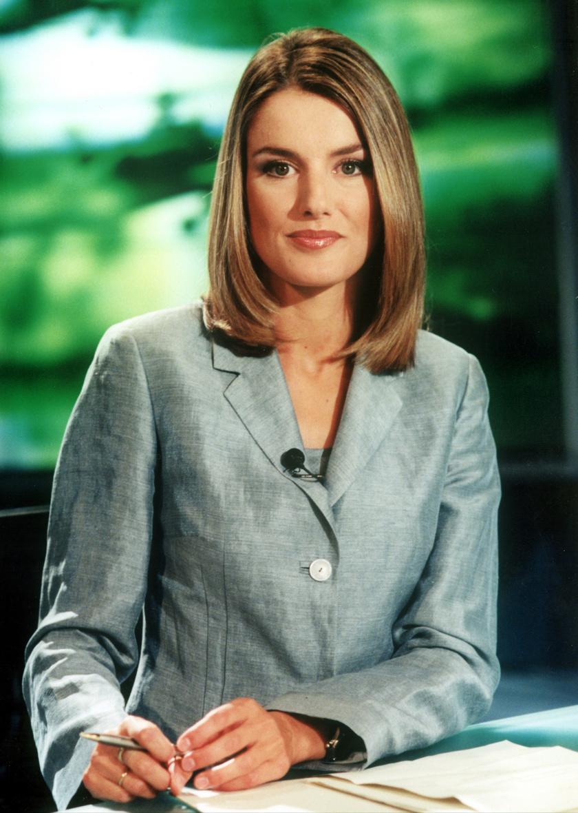 Mielőtt még összekötötte volna az életét VI. Fülöppel, a TVE csatorna bemondója volt.