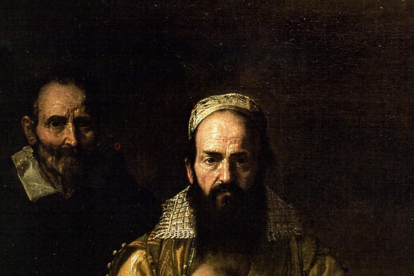 A festmény, ami mindenkit zavarba ejt: a szakállas nő gyermekét szoptatja rajta
