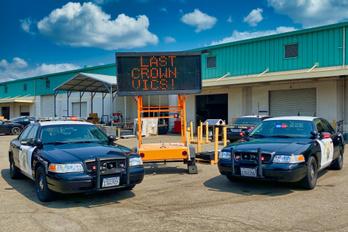 Lassan elfogynak a legendás Ford rendőrautók