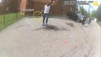 Fegyveres fekete férfi lelövése után tüntetések kezdődtek Washingtonban