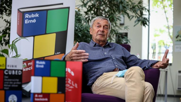 Kockára tette az életét – Rubik Ernő az Indexnek