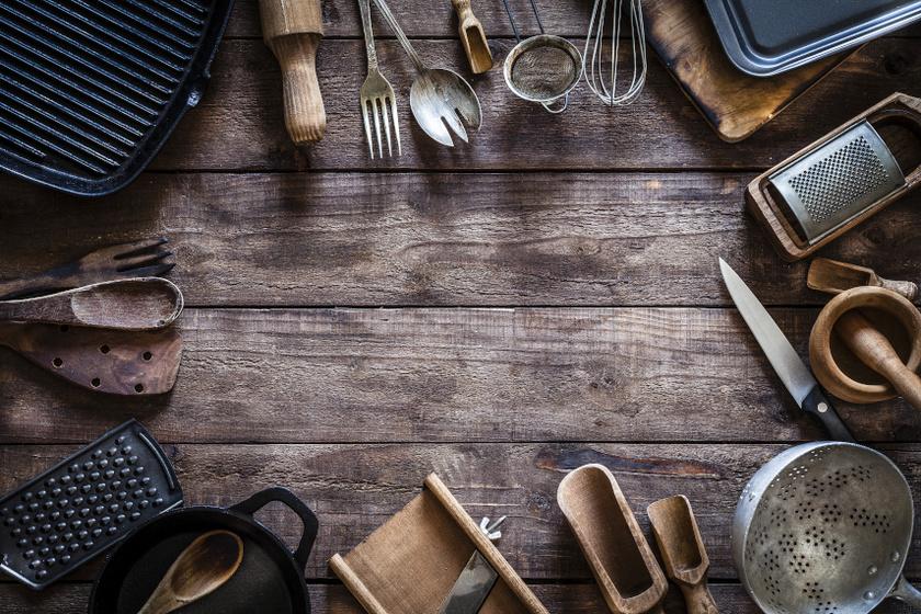 konyhai evőeszközök belső