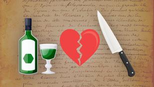Alkoholmámor, késpárbaj és öngyilkossági kísérlet – amikor két költő egymásba szeret