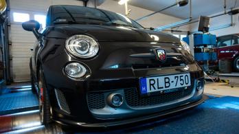 Totalcar Erőmérő: Abarth 595 Competizione 1,4T – 2014.