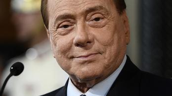 Koronavírus miatt kórházba került Berlusconi