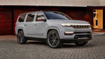 Valódi luxusterepjárót mutatott a Jeep