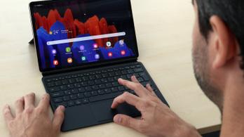 Galaxy Tab S7+: van élet a számítógépek után