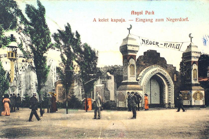 A Néger falu Budapesten.