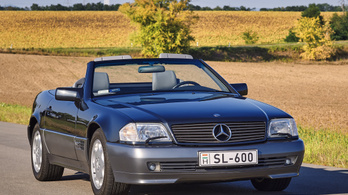 Joy of driving: Mercedes SL 600 – 1994.