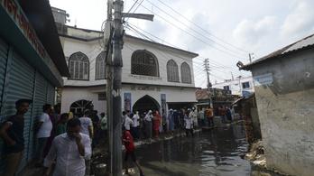 Húszan meghaltak, amikor felrobbant egy mecset Bangladesben