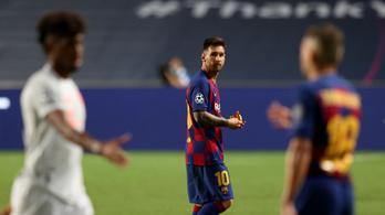 Messi romboló üzenetével együtt marad Barcelonában