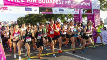 Félmaraton miatt lezárták a rakpartok és a hidak egy részét vasárnap Budapesten