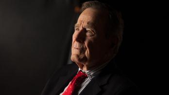 Szobrot kap idősebbik George Bush amerikai elnök Budapesten