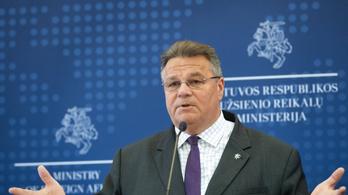 A litván külügyminiszter szerint az EU tétlenül nézi, mi történik Belaruszban