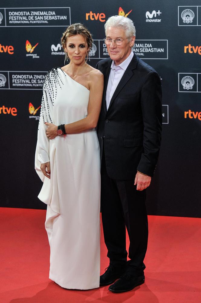 Richard Gere 2018-ban vette el spanyol származású szerelmét, Alejandra Silvát, aki 33 évvel fiatalabb a színésznél