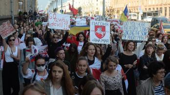 Több száz embert vettek őrizetbe az új belarusz tüntetéseken