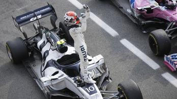 A Ferrari mindkét versenyzője kiesett az Olasz Nagydíjon – videó