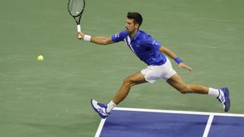 Dráma a US Openen, kizárták Djokovicsot!