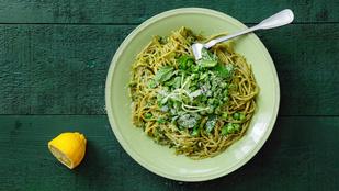 Zöld spagetti – tésztaimádóként is készíthetsz egészséges vacsorát