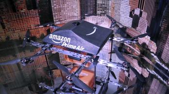 Fél órán belül kihozhatja a drón a megrendelt árut