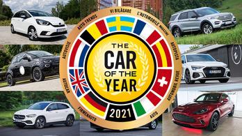 Az összes lehetőség, amiből a 2021-es Év Autója kijöhet