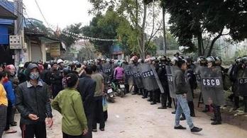 Huszonöt embert végezhetnek ki Vietnamban egy többéves földvita miatt