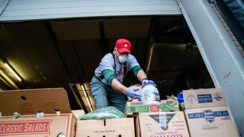 Több mint 12 tonnányi meghaladó élelmiszert kellett kivonni a forgalomból