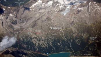 Helikopterrel hoztak le egy részeg turistát az Alpok egyik csúcsáról
