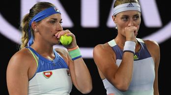 Babos és Mladenovic biztosan nem védik meg a címüket az Australian Openen
