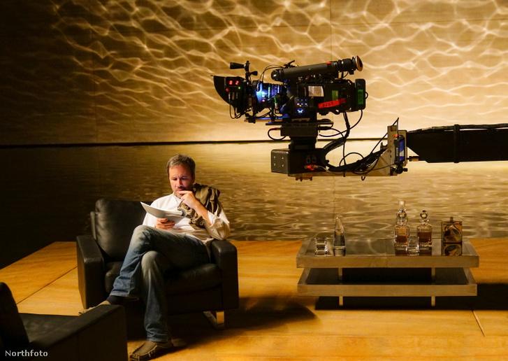 Denis Villeneuve a Szárnyas fejvadász 2049 forgatásán